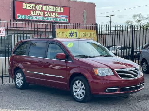 2014 Chrysler Town and Country for sale at Best of Michigan Auto Sales in Detroit MI