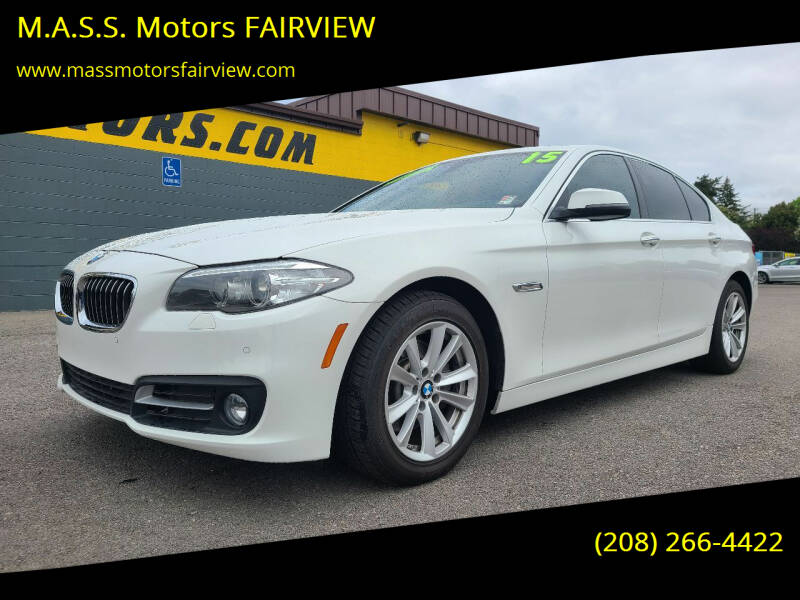 2015 BMW 5 Series for sale at M.A.S.S. Motors - Fairview in Boise ID