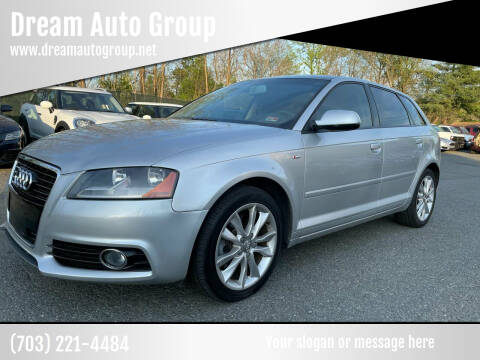 2013 Audi A3 for sale at Dream Auto Group in Dumfries VA