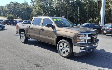 2014 Chevrolet Silverado 1500 for sale at Mathews Used Cars, Inc. in Crawford GA