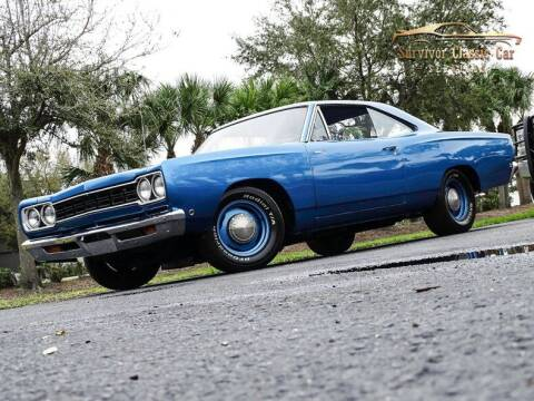 1968 Plymouth Roadrunner for sale at SURVIVOR CLASSIC CAR SERVICES in Palmetto FL