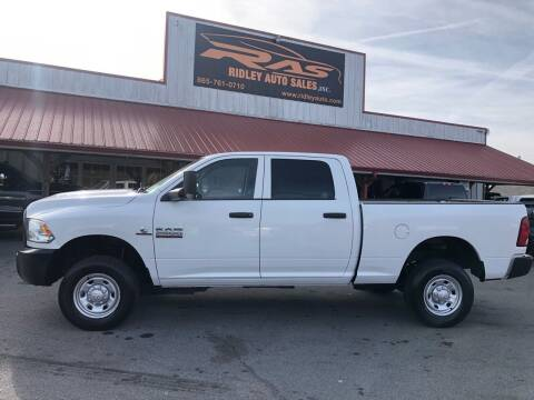 2017 RAM Ram Pickup 2500 for sale at Ridley Auto Sales, Inc. in White Pine TN
