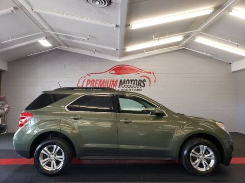 2015 Chevrolet Equinox for sale at Premium Motors in Villa Park IL