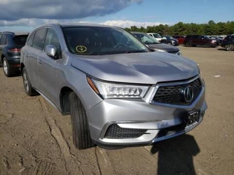 2017 Acura MDX for sale at MIKE'S AUTO in Orange NJ