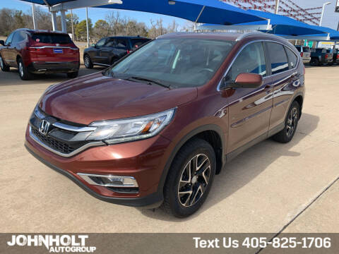 2016 Honda CR-V for sale at JOHN HOLT AUTO GROUP, INC. in Chickasha OK
