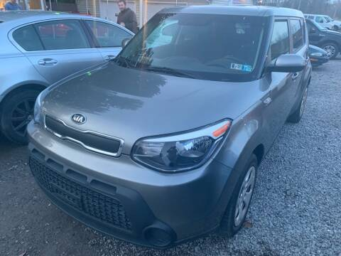 2014 Kia Soul for sale at Trocci's Auto Sales in West Pittsburg PA