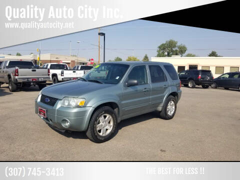 2006 Ford Escape for sale at Quality Auto City Inc. in Laramie WY