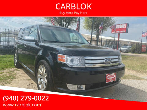 2010 Ford Flex for sale at CARBLOK in Lewisville TX