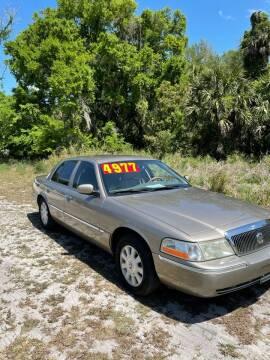 2004 Mercury Grand Marquis for sale at Ideal Motors in Oak Hill FL