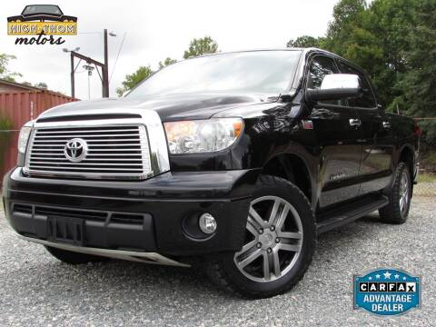 2013 Toyota Tundra for sale at High-Thom Motors in Thomasville NC