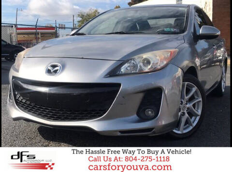 2012 Mazda MAZDA3 for sale at DFS Auto Group of Richmond in Richmond VA