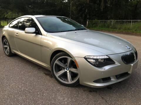 2008 BMW 6 Series for sale at Next Autogas Auto Sales in Jacksonville FL
