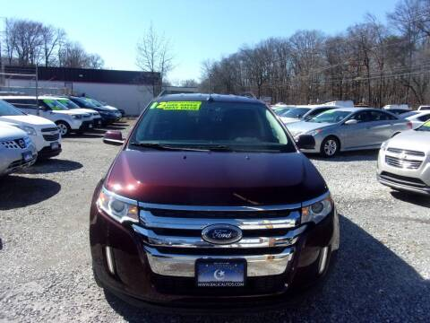 2012 Ford Edge for sale at Balic Autos Inc in Lanham MD