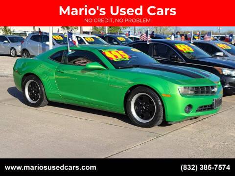 2011 Chevrolet Camaro for sale at Mario's Used Cars in Houston TX