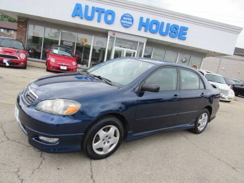 2007 Toyota Corolla for sale at Auto House Motors in Downers Grove IL