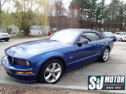 2006 Ford Mustang for sale at S & J Motor Co Inc. in Merrimack NH