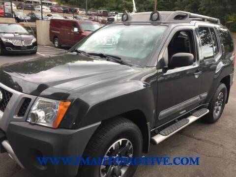 2015 Nissan Xterra for sale at J & M Automotive in Naugatuck CT