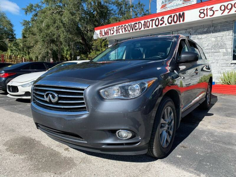 2014 Infiniti QX60 for sale at Always Approved Autos in Tampa FL