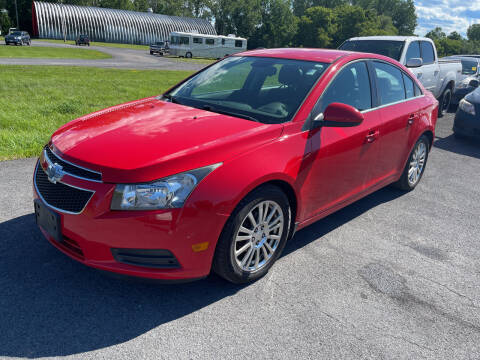 2014 Chevrolet Cruze for sale at Paul Hiltbrand Auto Sales LTD in Cicero NY