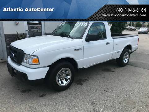 2010 Ford Ranger for sale at Atlantic AutoCenter in Cranston RI