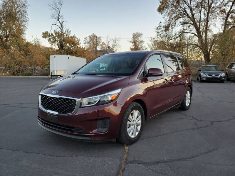 2018 Kia Sedona for sale at UTAH AUTO EXCHANGE INC in Midvale UT