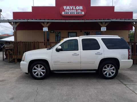 2011 GMC Yukon for sale at Taylor Trading Co in Beaumont TX