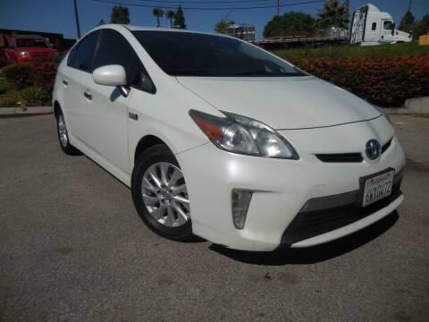 2012 Toyota Prius Plug-in Hybrid for sale at ARAX AUTO SALES in Tujunga CA