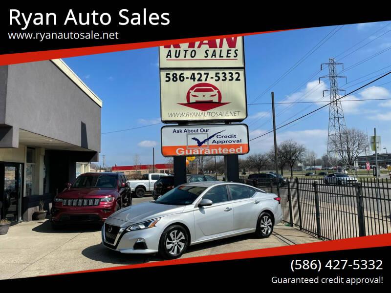 2020 Nissan Altima for sale at Ryan Auto Sales in Warren MI