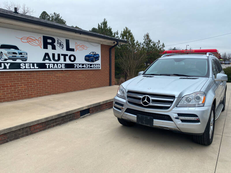 2012 Mercedes-Benz GL-Class for sale at R & L Autos in Salisbury NC