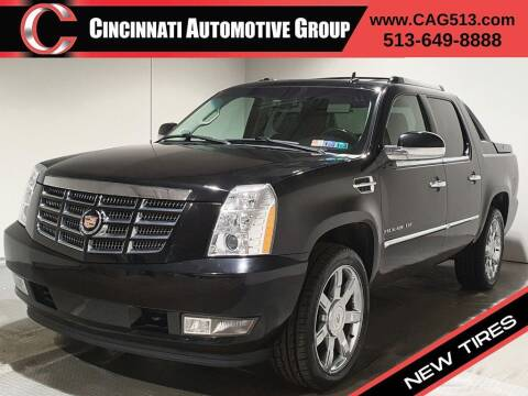 2012 Cadillac Escalade EXT for sale at Cincinnati Automotive Group in Lebanon OH