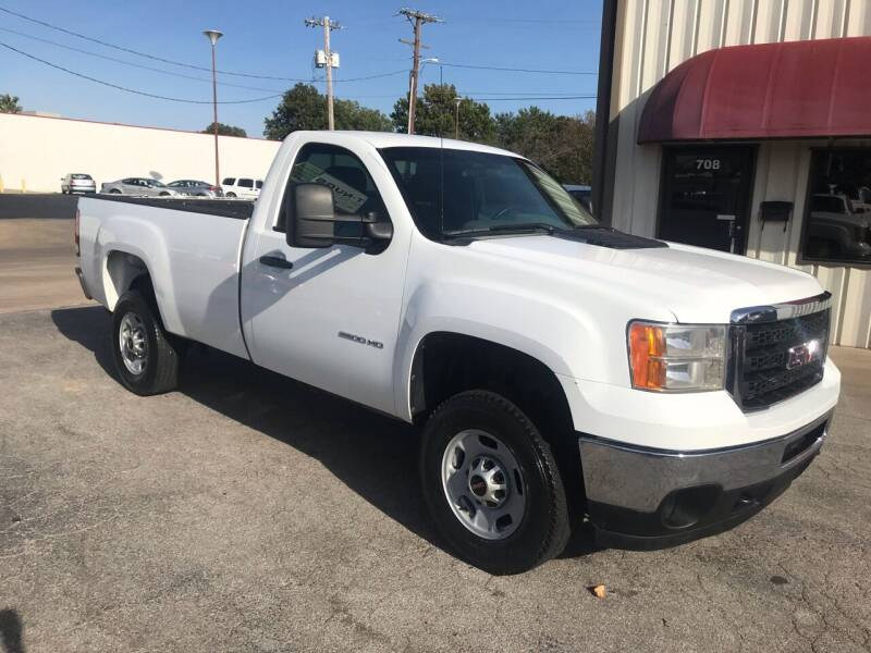 2011 GMC Sierra 2500HD for sale at Superior Used Cars LLC in Claremore OK