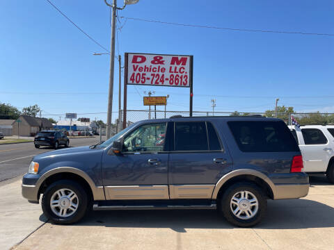 2003 Ford Expedition for sale at D & M Vehicle LLC in Oklahoma City OK