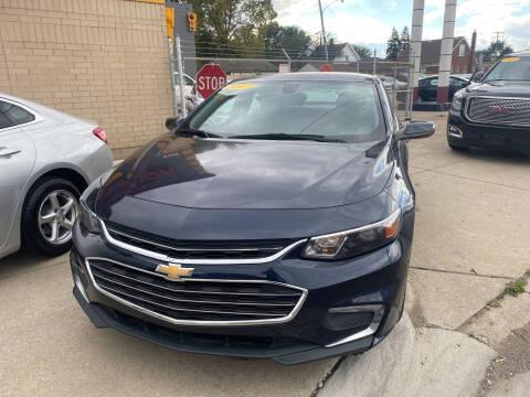 2017 Chevrolet Malibu for sale at Matthew's Stop & Look Auto Sales in Detroit MI