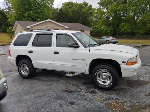 1998 Dodge Durango for sale at K & P Used Cars, Inc. in Philadelphia TN