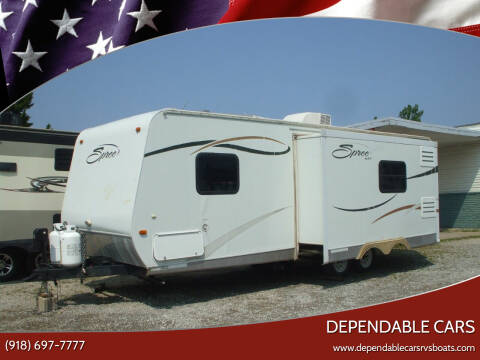 2009 KZ   SPREE  25ft **SUPER LITE** for sale at DEPENDABLE CARS in Mannford OK