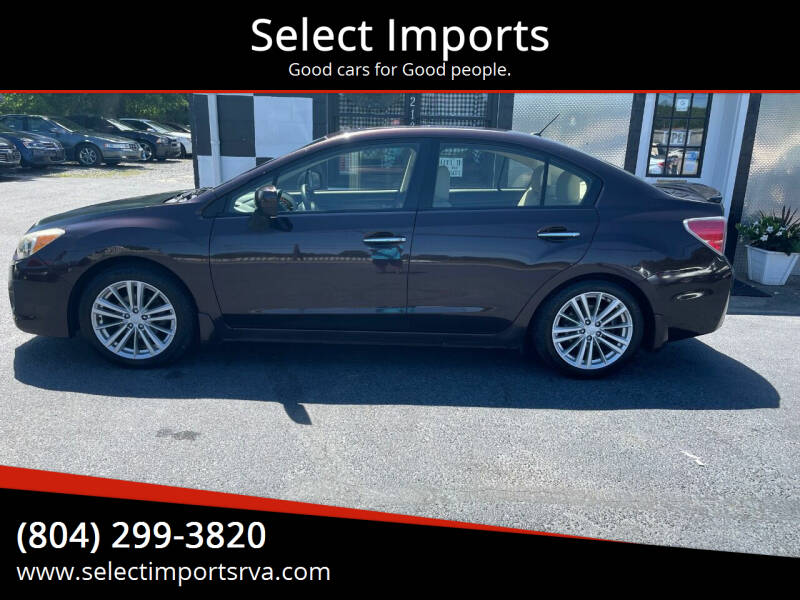 2013 Subaru Impreza for sale at Select Imports in Ashland VA