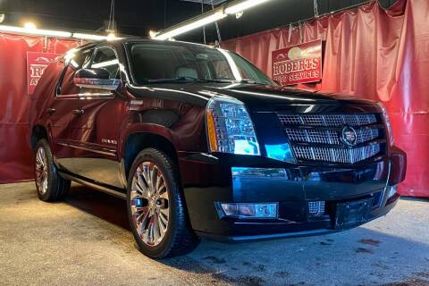 2014 Cadillac Escalade for sale at Roberts Auto Services in Latham NY