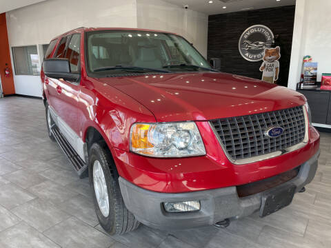 2003 Ford Expedition for sale at Evolution Autos in Whiteland IN
