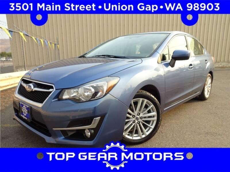 2016 Subaru Impreza for sale at Top Gear Motors in Union Gap WA