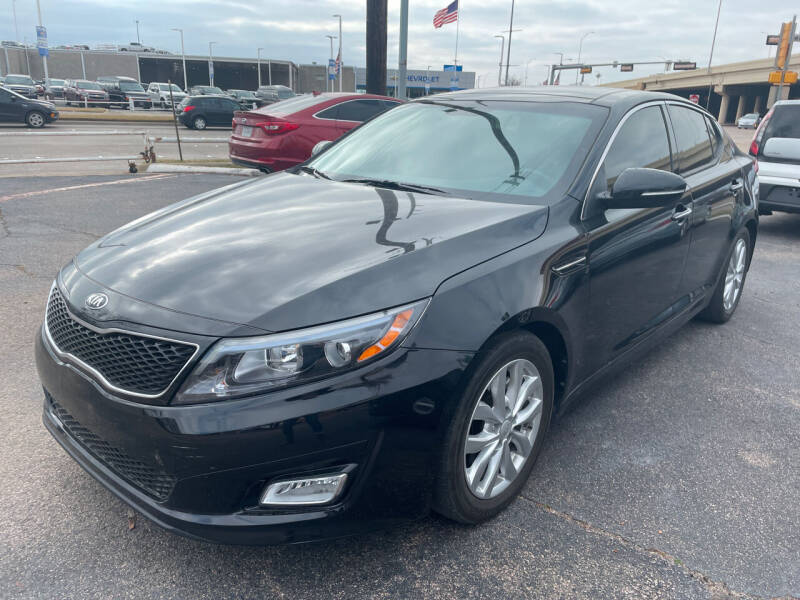 2015 Kia Optima for sale at New Start Auto in Richardson TX