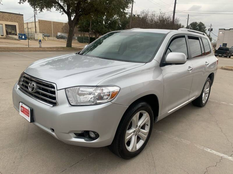 2010 Toyota Highlander for sale at Vitas Car Sales in Dallas TX