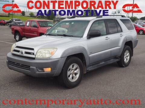 2003 Toyota 4Runner for sale at Contemporary Auto in Tuscaloosa AL