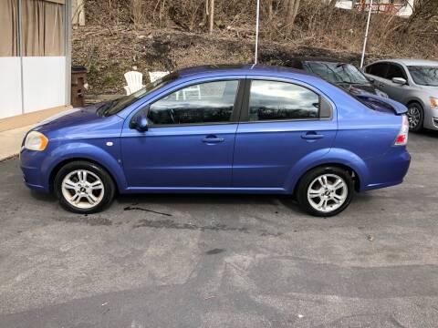 2008 Chevrolet Aveo for sale at CHRIS AUTO SALES in Cincinnati OH
