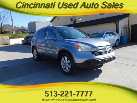 2009 Honda CR-V for sale at Cincinnati Used Auto Sales in Cincinnati OH