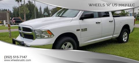 "2015 RAM Ram Pickup 1500 for sale at WHEELS ""R"" US 2017 LLC in Hudson FL"