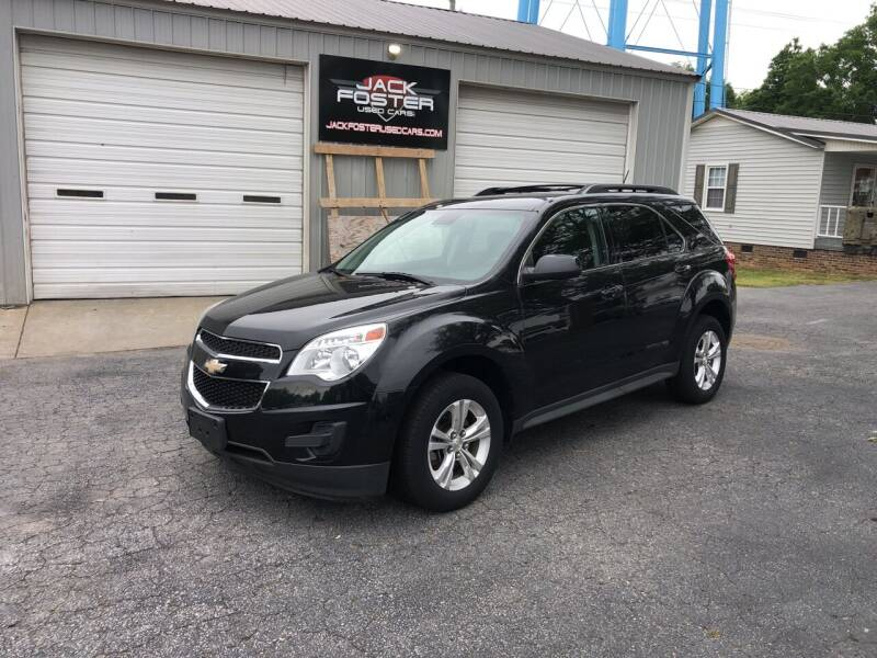 2015 Chevrolet Equinox for sale at Jack Foster Used Cars LLC in Honea Path SC