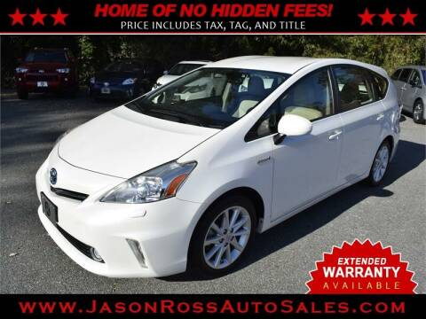 2013 Toyota Prius v for sale at Jason Ross Auto Sales in Burlington NC