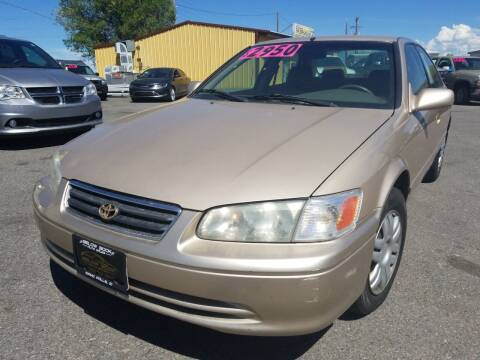 2001 Toyota Camry for sale at BELOW BOOK AUTO SALES in Idaho Falls ID