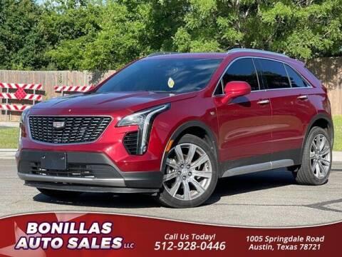 2019 Cadillac XT4 for sale at Bonillas Auto Sales in Austin TX