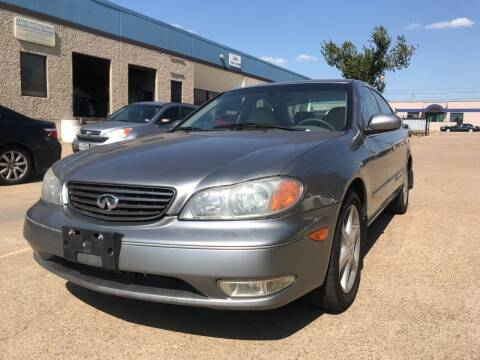2003 Infiniti I35 for sale at BJ International Auto LLC in Dallas TX